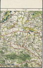 Malschwitz Kubschütz Hochkirch 1928 Teilkarte/Ln Cunewalde Löbau Baruth Czornebo