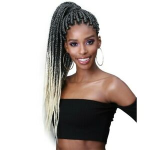 """Bobbi Boss 3X PRE-FEATHERED JUST GLAM BRAID 65"""" Inch Extra Long"""