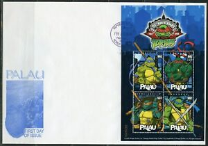 PALAU 2009 TEENAGE NINJA MUTANT TURTLES SHEET  FIRST DAY COVER