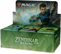 MTG Magic Zendikar Rising DRAFT Booster Box (36 Packs) FACTORY SEALED!!