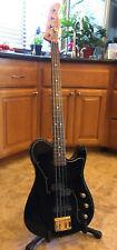 Vintage 1990s Fernandes TEB electric bass fretless Telecaster EMG Japan MIJ case