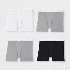 Women's 2pk Cotton Mid-Thigh with Comfortsoft Waistband Boxer Brief Hanes XXL*