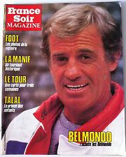 >France Soir Magazine du 30/03/1984; Interview Belmondo/ Carte tour de France