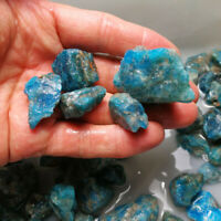 Natür Apatit Kristall Rauer Stein Probe Reiki Heilung Mineralien Aquarium Deko