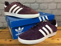 ADIDAS 350 MENS UK 8 EU 42 PURPLE WHITE TRAINERS RRP £70 CASUALS *REDYE* LG