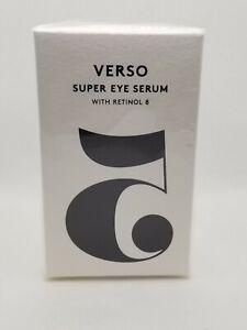 VERSO Super Eye Serum w/Retinol-8 1oz/30mL Full Size NIB SEALED