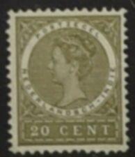 ZE 030 Nederlands Indie 1903 Wilhemina 20 ct Postfris