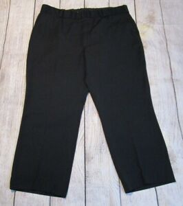 Horace Small Black Mens Challenger Uniform Pants 44 1/2 x 29 Police Fire EMT
