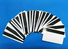 20PCS Blank PVC HiCo Magnetic Swipe Cards w/ Protective Film ID 3-Track Mag