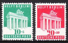 BIZONE 1948 Mi. Nr. 101-102 Postfrisch LUXUS!!!