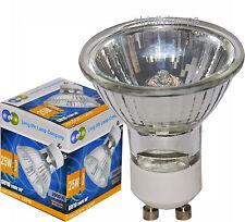 8 x GU10 25w Halogen Light Bulbs Spots FREE deliverey