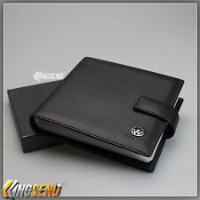deluxe VOLKSWAGEN Leather CD Case Car DVD Holder Disc Album Disk Storage Carry