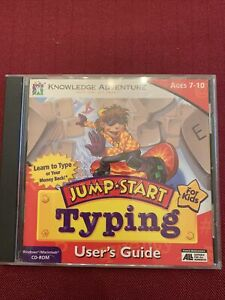Jump Start Typing Ages 7-10 PC computer game educational Disc)