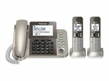 New Panasonic DECT 6.0 corded cordless digital phone 2 - Handsets with answering