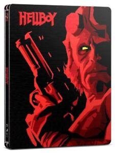HELLBOY (2004) BLU RAY FILM NEW STEELBOOK RB **INCLUDES A FREE STEELBOOK**