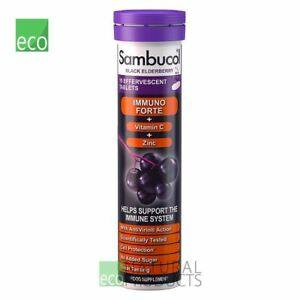 Sambucol Immuno Forte Black Elderberry Effervescent 15 Tablets