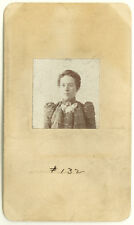Photo Bertillon identification Policière Police Mug Shot Usa Women 1890/1900