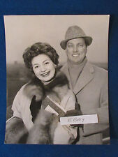 "Original Press Photo - 10""x8""- Adele Leigh & James Pease - Opera Singers - 1959"
