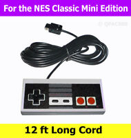 Controller for Nintendo NES Classic Mini Edition with 12ft Long Cable Cord
