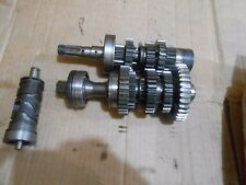 Suzuki GT550 GT 550 triple 1972 transmission gears shafts