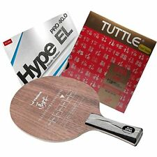Table Tennis Racket Malin Extra Offensive+ Gewo Hype EL 40.0 Tuttle 888