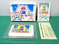 NES - TIME ZONE - Boxed. rare 2D action. Famicom. Japan Game. 10930