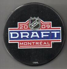 2009 NHL Entry Draft Bell Centre Montreal Canadiens NHL Hockey Puck + FREE Cube