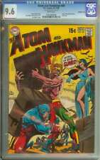 ATOM AND HAWKMAN #45 CGC 9.6 WHITE PAGES