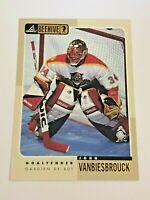 1998 Pinnacle Beehive Hockey 5x7 Base Card -- John Vanbiesbrouck - Panthers