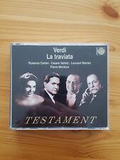 Verdi: Traviata. Carteri, Valletti, Warren, Monteux. 2 CDs