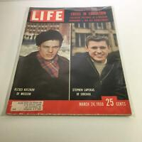 Life Magazine: Mar 24, 1958 - Crisis in Education: Moscow V.S. Chicago