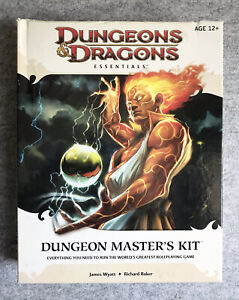Dungeon & Dragons Essentials : Dungeon Masters Kit (2010, 4th Edition) Open Box