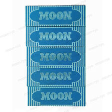 "5×40 sheets 77mm 1.25"" inch Moon Blue Cigarette Tobacco Rolling Papers"