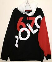 Polo Ralph Lauren Mens Black Red White POLO 67 Hoodie Sweat Jacket NWT 2XL XXL