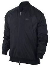 Nike sz M Men's JORDAN Wings Full Zip Woven RETRO Jacket NEW  843100-010 Black