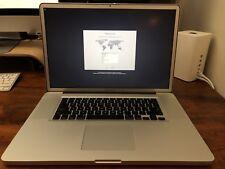 """Apple MacBook Pro 17"""" Laptop - Core i7, 8GB DDR3 RAM, dual 250GB SSD & 1TB SATA"""
