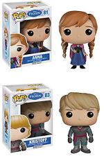Funko POP! Disney ~ ANNA & KRISTOFF VINYL FIGURE SET ~ Frozen
