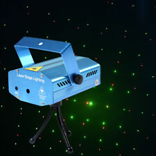 R&G Super Mini Projector Laser Stage Lighting Show Plug In DJ Disco LED Lighting