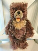 """Antique Steiff Zottelbear Zotty Caramel Mohair 1951-1958 Fully Jointed 10.5"""""""