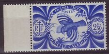 NEW CALEDONIA - SG276 MNH 1942 FREE FRENCH ISSUE 2f50 BLUE