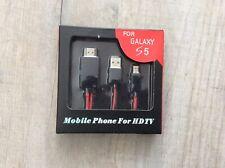 Adaptador de MHL a HDMI medios para Galaxy S5 Totalmente Nuevo En Caja