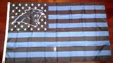 Carolina Panthers 3x5 American Flag. US seller. Free shipping within the US!!