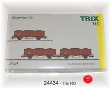 Trix 24434 Freight Car Set Es 5235, Es 5520 Spur Trix H0 New