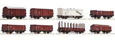 Roco 44002, Güterwagen Set 8tlg., DB, Neu und OVP, H0