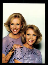 Alice et Ellen KESSLER AUTOGRAPHE CARTE Original Signée # BC 101238