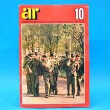 Armeerundschau 10-1975 NVA Volksarmee DDR Turnen MiG 21 Judo Maschinengewehre E