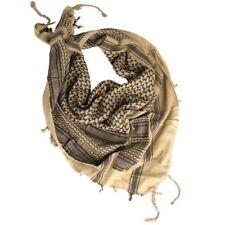ARMY MILITARY SHEMAGH TACTICAL SHERMAG COMBAT KEFFIYEH SCARF - KHAKI BLACK