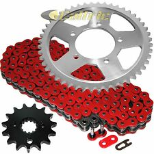 Red O-Ring Drive Chain & Sprockets Kit Fits SUZUKI GSF600 Bandit E3 E3 1995-1999