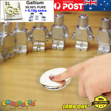 Gallium Magic Liquid Metal Melt in Hand 99.99% Pure Refined 4N DIY Australia