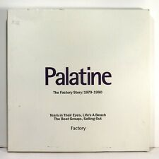 PALATINE - Factory Story 1979-1990 >1991 UK Ltd. Box 4 tapes w/ Booklet EX
